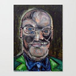 Steven A. Cohen (oil on canvas) Canvas Print