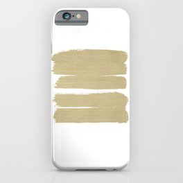 Stripes - No Comment #3 #minimal #painting #decor #art #society6 iPhone Case