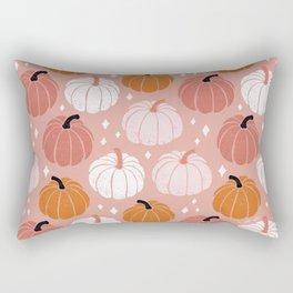 Peachy Pumpkin Rectangular Pillow