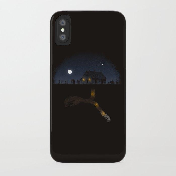 Minecraft: Always Digging iPhone Case