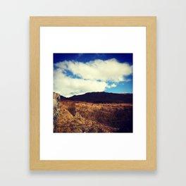 Scottish Highlands: Beyond Fences Framed Art Print