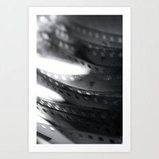 Negatives 2 Art Print
