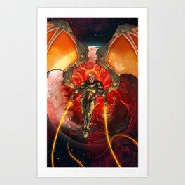 Destroyer of Worlds Art Print