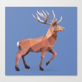Reindeer.  Canvas Print