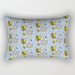 Little Bee Rectangular Pillow
