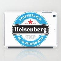 heisenberg iPad Cases featuring Heisenberg by colourpie