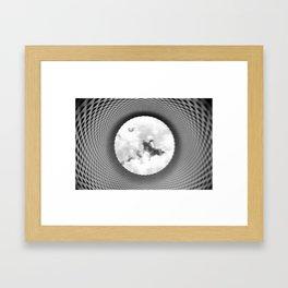 Tunnel to heaven Framed Art Print