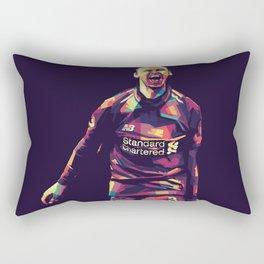 Fernandinho Player Football Rectangular Pillow
