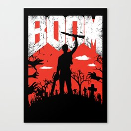 This... is my BOOMSTICK! Canvas Print