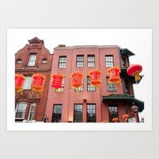 chinatown 001 Art Print