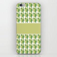 GREEN/LEMON BIRDS iPhone & iPod Skin