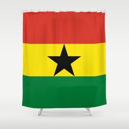 Flag: Ghana Shower Curtain