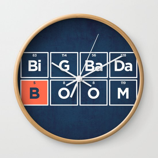 Boron Wall Clock