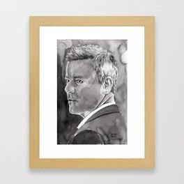 Rupert Graves as Inspector Lestrade Framed Art Print