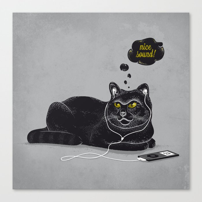 Chilling Cat Canvas Print