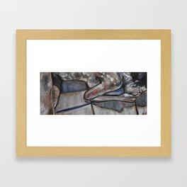 Tile Framed Art Print