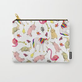 Unicorn Animals Carry-All Pouch