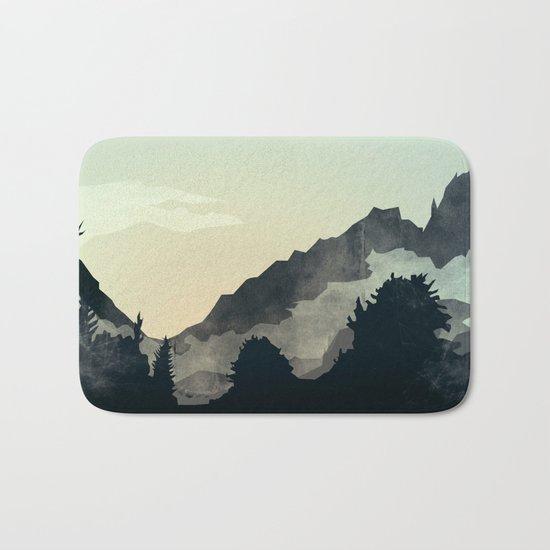 Misty Mountain Bath Mat