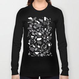 Terrazzo Spot Black 2 Long Sleeve T-shirt