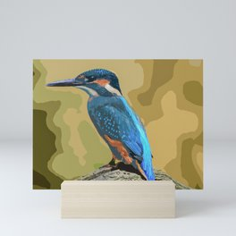 The Kingfisher Mini Art Print