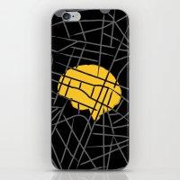 sherlock iPhone & iPod Skins featuring Sherlock by Lorcy