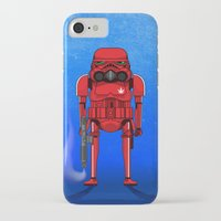 marijuana iPhone & iPod Cases featuring Marijuana trooper by kakin