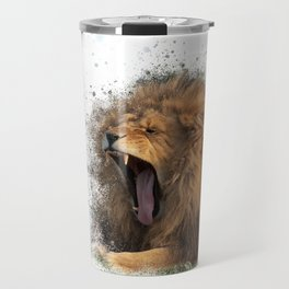 A Roaring Picture Travel Mug