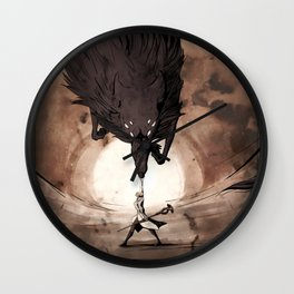 May the Dread Wolf take you Wall Clock