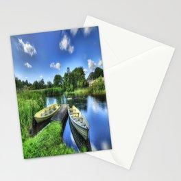 Padarn Boats Stationery Cards