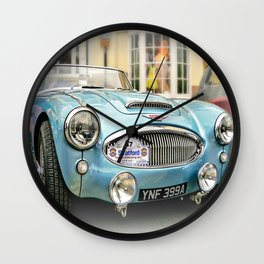 British Sports Car Wall Clock