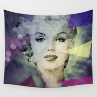 marilyn Wall Tapestries featuring Marilyn by Esco