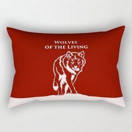 Wolves of the Living Rectangular Pillow