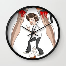 Whoops! Wall Clock