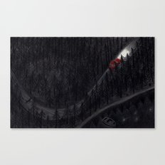 Through the darkness Canvas Print