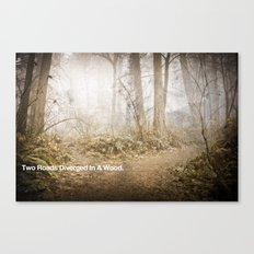 CHARACTER BUILDING EXERCISE Canvas Print