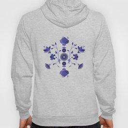 Blue Flower Bohoo Pattern Hoody