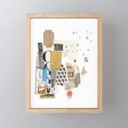 It Always Works Out Framed Mini Art Print