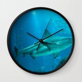 Shark underwater Wall Clock