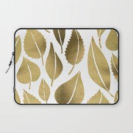 Cascading Leaves – Gold Palette Laptop Sleeve