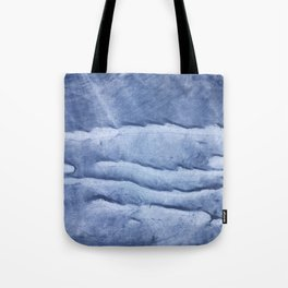 Blue abstract watercolor Tote Bag