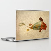 koi Laptop & iPad Skins featuring Mystic Koi by Fernando Vieira