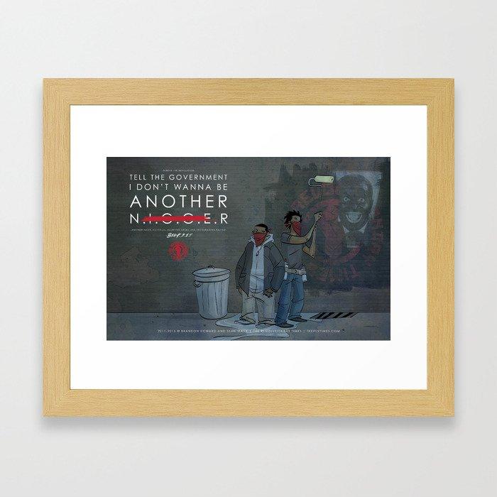 Not Another...  Framed Art Print