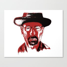 »Heisenberg« sees red Canvas Print