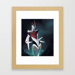 Graceful Mecha Framed Art Print