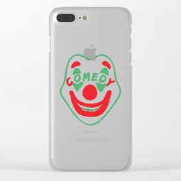Comedy Clear iPhone Case