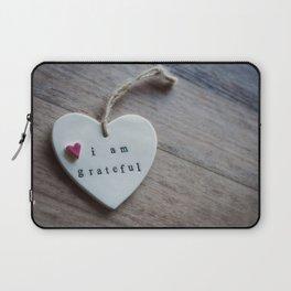 Grateful Heart Laptop Sleeve