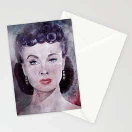 Vivien Leigh as Scarlett O'Hara Watercolor  Stationery Cards