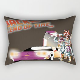Back to the End of Time Rectangular Pillow