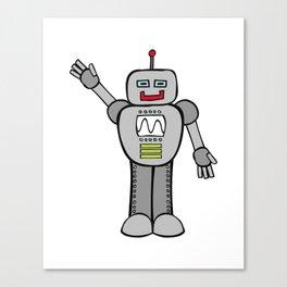 Robot Friend 2000 Canvas Print