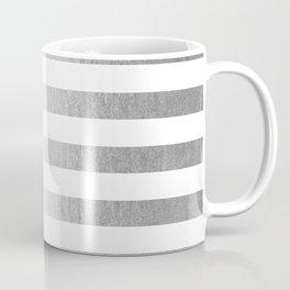 Simply Striped Moonlight Silver Coffee Mug
